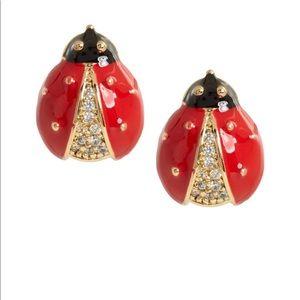 NWOT Banana Republic Ladybug studded earrings